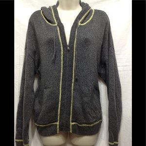 Junior's size XL OLD NAVY soft full zip hoodie